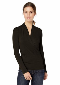 Enza Costa Women's Long Sleeve Ballet Top  XS