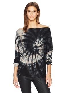 Enza Costa Women's Long Sleeve Exposed Shoulder Top  XS