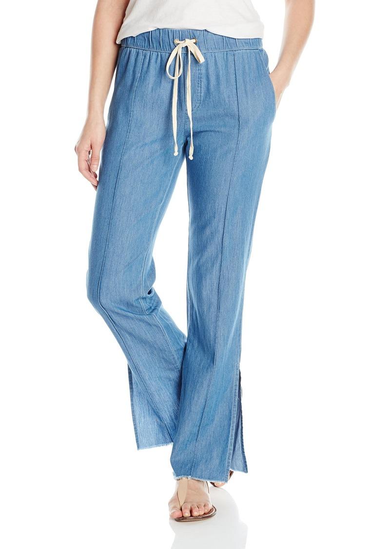 Enza Costa Women's Pintuck Slim Trouser  S