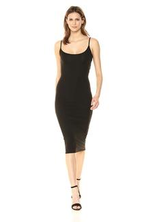 Enza Costa Women's Strappy Back Twist Midi Dress  XS