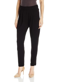 Enza Costa Women's Stretch Silk Jersey Easy Pant  XS