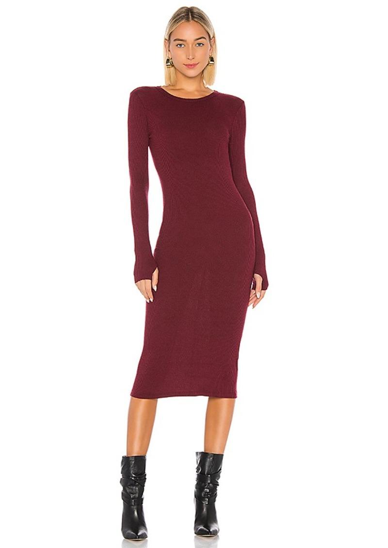 Enza Costa X REVOLVE Rib Midi Dress