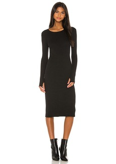 Enza Costa X REVOLVE Rib Midi Dress