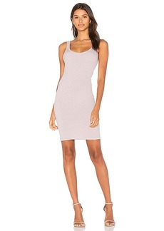 Enza Costa X REVOLVE Rib Tank Mini Dress in Lavender. - size 1 / S (also in 2 / M,3 / L)