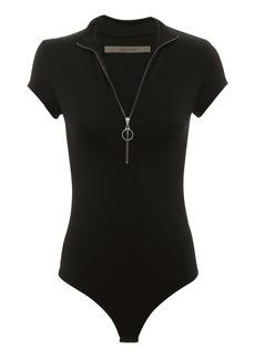 Enza Costa Half Zip Bodysuit