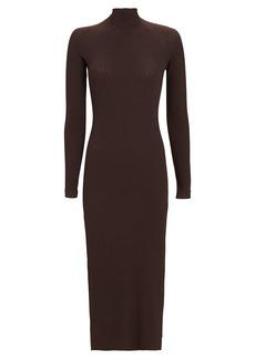 Enza Costa Rib Knit Midi Dress