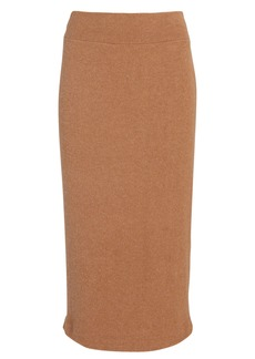 Enza Costa Rib Knit Midi Skirt