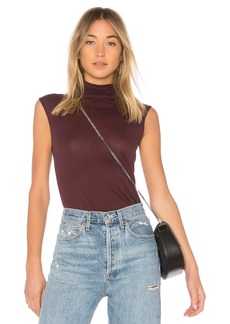 Enza Costa Tissue Jersey Turtleneck Tank