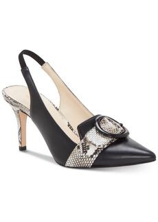 19e47bc8596 Enzo Angiolini Dalayza Slingback Dress Sandals Women's Shoes