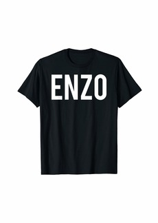 Enzo Angiolini Enzo T Shirt - Cool new funny name fan cheap gift tee