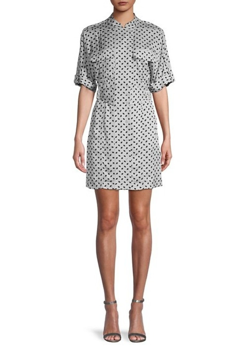 Equipment Absalone Geometric Shirtdress