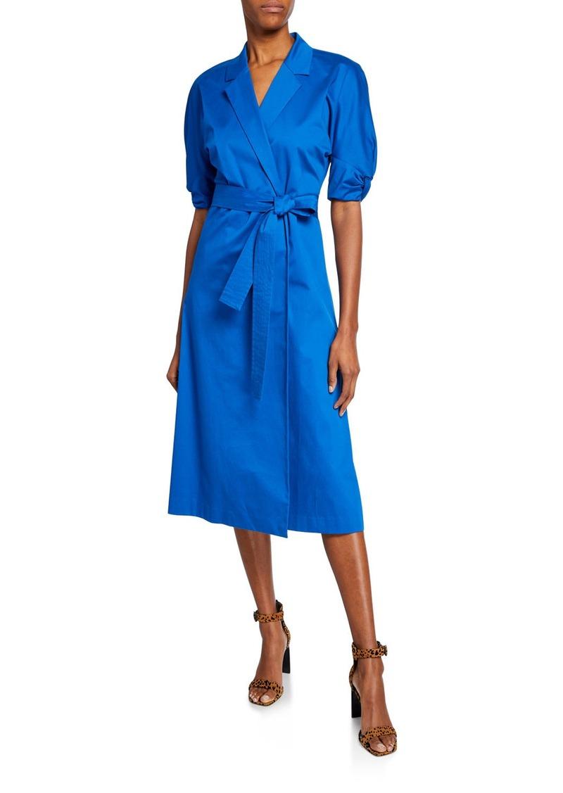 Equipment Anitone Short-Sleeve Wrap Dress