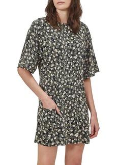 Equipment Arlinne Printed Silk Dress