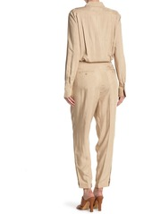 Equipment Armeria Collared Utility Jumpsuit