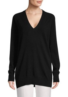 Equipment Asher Back Cut-Out Wool & Cashmere Sweater