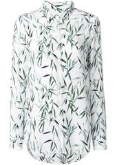 Equipment bamboo print blouse