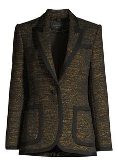 Equipment Bodanne Metallic Tweed Blazer