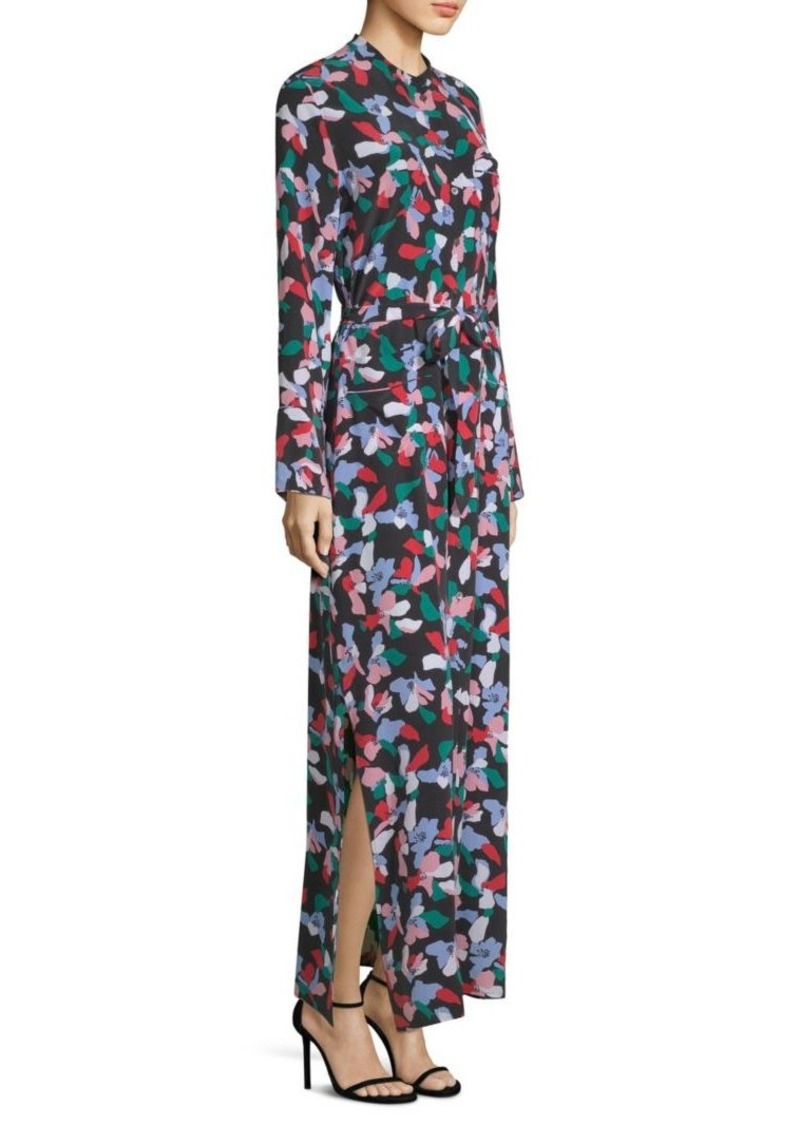 Equipment Britten Floral-Print Dress
