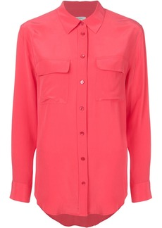 Equipment button pocket shirt