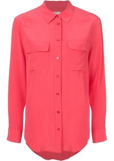 Equipment button pocket shirt