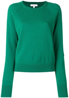 Equipment cashmere ribbed neck jumper