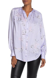 Equipment Causette Floral Silk Blend Blouse