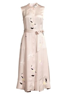 Equipment Clevete Floral Shirt Dress