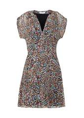 Equipment Danetta Floral Mini Dress