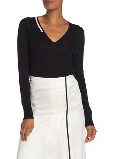 Equipment Demia V-Neck Pullover Sweater