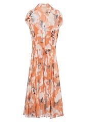 Equipment Didier Floral Silk Dress