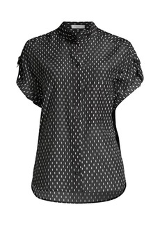 Equipment Drace Polka Dot Top