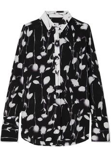 Equipment Eleonore Floral-print Satin Shirt