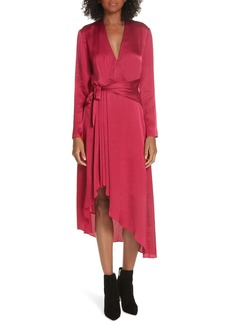 Equipment Adisa Asymmetrical Wrap Dress