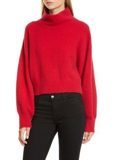 Equipment Aixenne Wool Blend Mock Neck Sweater