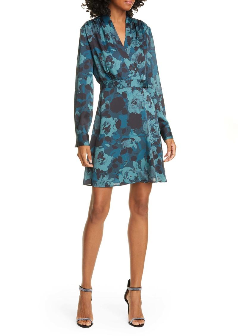 Equipment Allaire Long Sleeve Silk Blend Dress
