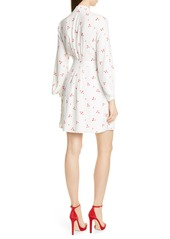 Equipment Allaire Long Sleeves Silk Dress