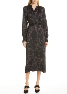 Equipment Alowette Silk Shirtdress
