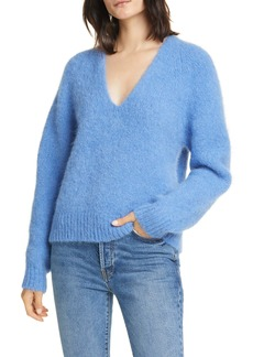 Equipment Alpaca Blend V-Neck Sweater