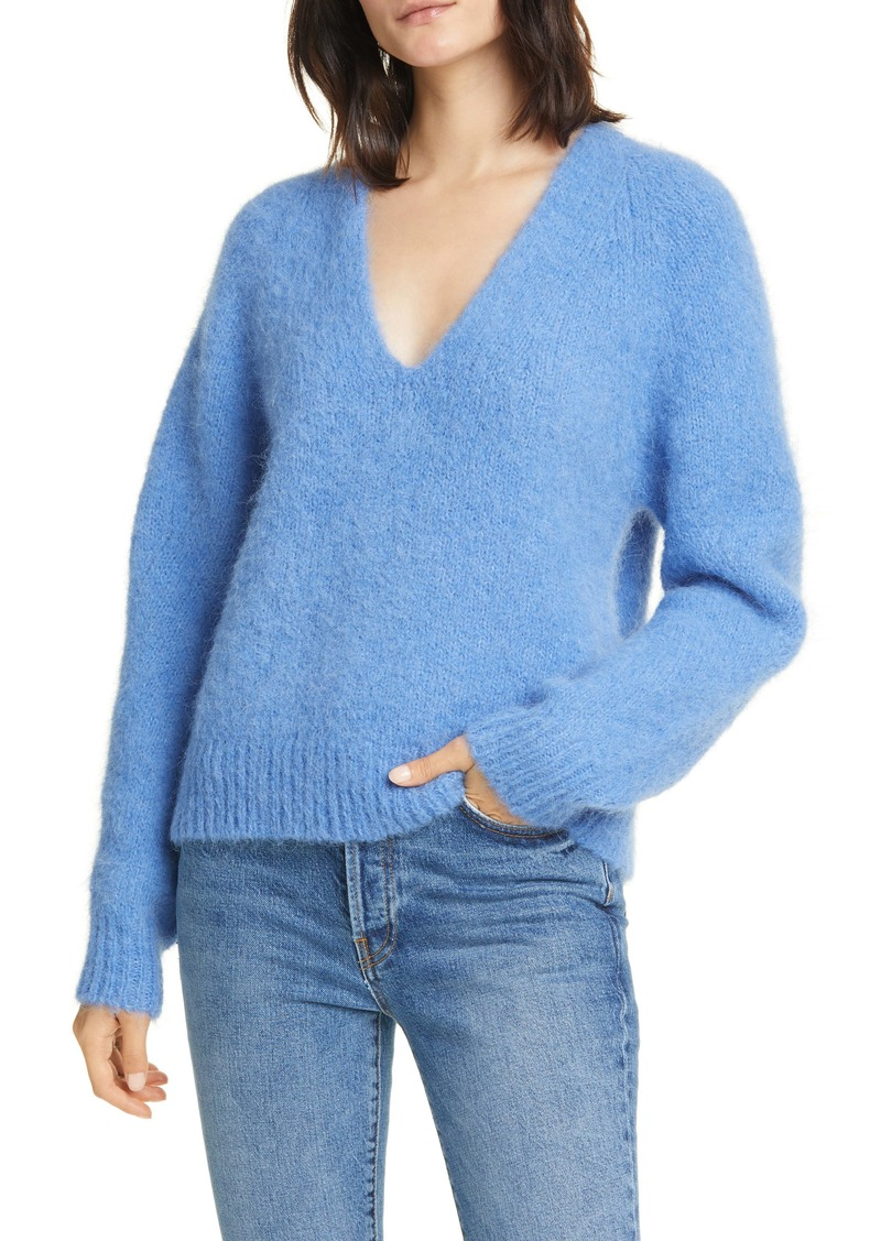 Equipment Alpaca Blend V-Neck Sweater