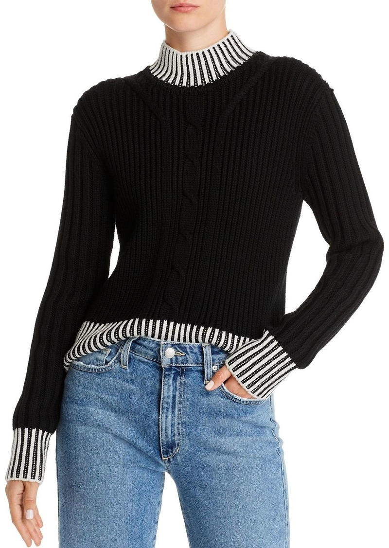Equipment Alyonne Wool Mock-Neck Sweater