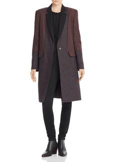 Equipment Arostide Tweed Combo Coat
