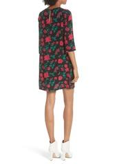 Equipment Aubrey Floral Shift Dress