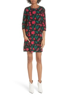 Equipment Aubrey Floral Shift Dress
