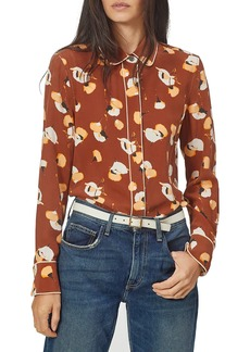 Equipment Audete Silk Button-Up Shirt