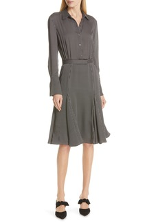 Equipment Bancort Flared Hem Shirtdress