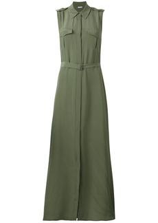 Equipment belted shirt dress - Green