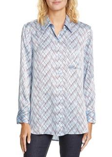 Equipment Bradner Print Silk Shirt
