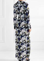 Equipment Britten floral-print silk crepe de chine maxi dress
