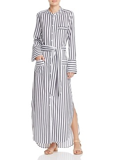 Equipment Britten Maxi Shirt Dress