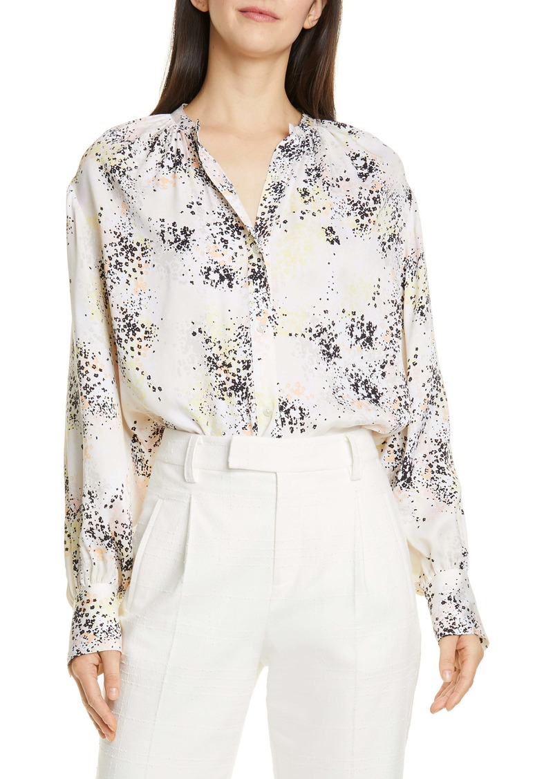 Equipment Causette Print Silk Blouse